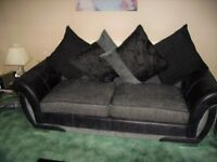 Two 3 seater settees for sale