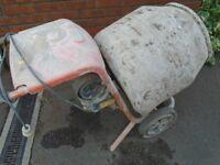 belle cement mixer