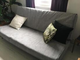 Ikea sofa bed Isunda grey fabric KARLABY/KARLSKOGA