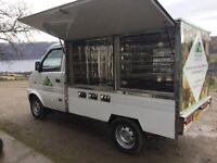 Hot food delivery van for sale
