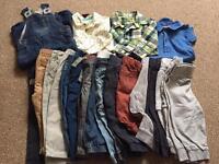 Boys 9-12 months large clothes bundle