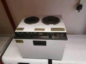 Brand new caravan cooker