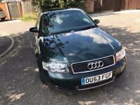 AUDI A4 2.5 TDI 163 4dr Multitronic (green) 2003