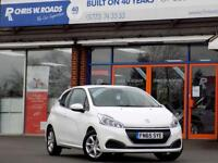 PEUGEOT 208 1.2 ACTIVE 3dr ** ONLY 14000 Miles ** (white) 2015