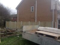 FENCING/FENCE PANEL FITTING SERVICE IN AND AROUND NOTTINGHAMSHIRE 60 MILE RADIUS