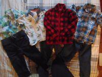 Boys clothing bundle 4-5 years (Gap, Next and George)