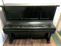 Very Nice Black 'A.Knauer' Upright Console Piano - CAN DELIVER