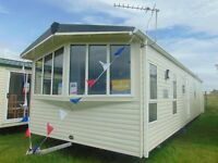 Ideal DG/CH Family Caravan Sited on North Wales Premier Park with Direct Beach Access !!