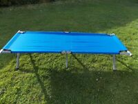3 FOLDING CAMP BEDS - PRICE FOR EACH - NOT FOR ALL! - DOUBLE SLEEPING BAG - CAMPING - SLEEP OVER