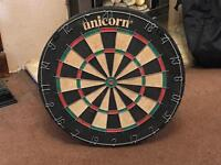 Dartboard hardly used in very good condition