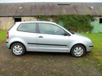 VW Polo 1.2. 11 months mot and FSH. VGC throughout