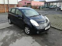 2008 (58 reg), Nissan Note 1.4 16v Acenta 5dr Hatchback, £1,795 p/x welcome