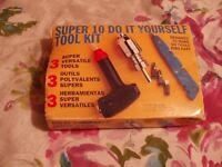 SUPER DIY 10 SUPER TOOL KIT