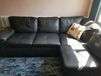 ALONZA SOFA BED FAUX LEATHER