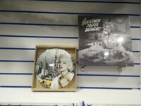 MARILYN MONROE CLOCK AND CANVAS PICTURE (BRAND NEW)