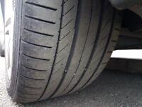 Wheels mercedes w211