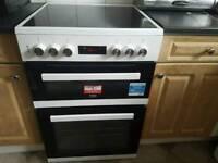 Beko electric cooker double oven