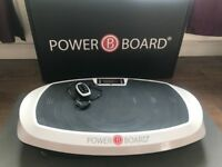 Casada Power Board 2.0 - Vibration Plate - hardly used - with DVD and Mat