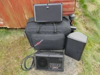 Galaxy audio 'Hot Spot' Stage Monitoring System c/w portable carry case
