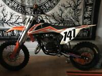 Ktm sx 50 motorcross bike