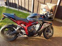 Honda cbr650 f very low miles