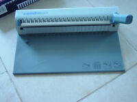 Combman file binding machine Now £45 for quick sale