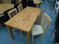 Dining Table And 4 Chairs Available. Already Built And Can Deliver