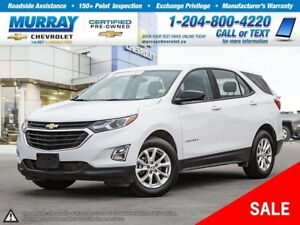 2018 Chevrolet Equinox LS *Accident Free, Heated Seats, Remote S