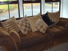 2 Tetrad Sofas --a 4 seater sofa and a 3 seater sofa