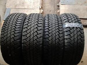 255/70/18 * 4 pneus ÉTÉ Bridgestone dueler neuf