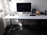 The Conset 501-29 Sit Stand Electric Desk