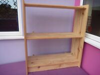Bookcase - wall mounted
