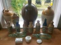Wanted local antique stoneware bottles flagons stout ginger beer welsh