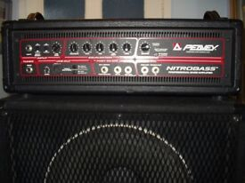 Peavey Nitrobass Professional Bass Amplifier & Speakers