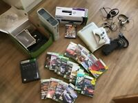 Xbox 360 bundle with Kinect and games