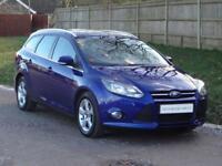 Ford Focus Zetec Navigator (blue) 2014