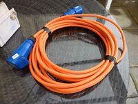 caravan hook-up cables