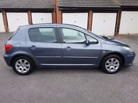 PEUGEOT 307 PETROL AUTOMATIC-MOT-ALLOY-DRIVES PERFECT-EXCELLENT CONDITION IN AND OUT-PEUGEOT 307 CAR