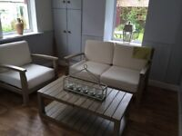 Sofa, chair and table - Marks and Spencer Dahlia furniture (Indoor or Outdoor use)