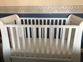 Tutti Bambini Cot Bed with drawer