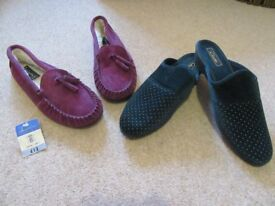 Slippers, size 8