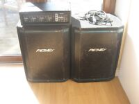 Peavey Speakers and Prosound Amplifier