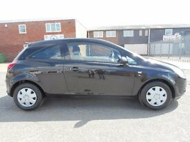 vauxhall corsa 1.3 ecoFLEX diesel with only 100k from new. Cheap tax! Great mpg!