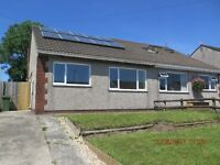 2 Bed Semi-detached Bungalow in Beddau available immediately.