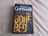 THE BONE BED by Patricia Cornwell 50p collect Exeter