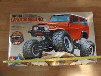 Unbuilt New Tamiya 58405 Toyota Land Cruiser 40 CR01 Rock Crawler 1/10 Kit cr-01 rc remote control