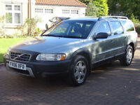 VOLVO XC70 2.4 D5 SE 5d AUTO 183 BHP LEATHER TRIM ++ AUTOMATIC ++ SERVICE RECORD ( 9 STAMPS)++