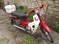 Honda C70/C90 Tidy little bike
