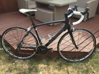 2013 Carbon Specialized Road Bike with Mavic ksyrium wheels. New 105 cassette, chain, bar tape