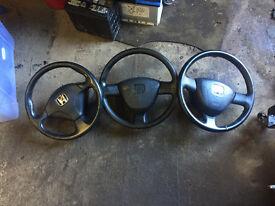 honda civic ep2 steering wheels with air bags ep3 ek4 ej9